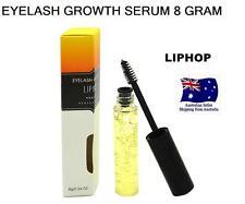 LIPHOP Eyelash Growth Serum 8 GRAM Liquid Eyelashes Treatments LASHES NO FALSE