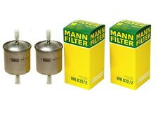 NEW Pair Set of 2 Fuel Filters for Volvo S60 V70 R XC90 Mann WK 832/2