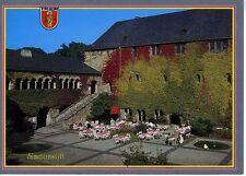 Postkarte Trier Fotokunst Schwalbe: 2/3 Simeonsstift (11. Jh.) und Brunnenhof