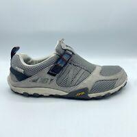 New Balance Trail Walking Shoes Vibram Slip On Gray MO899GR Men's 9.5 2E Wide