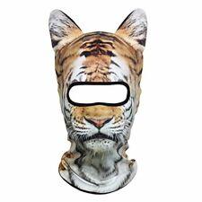 3D Animal Neck Gaiter Warmer Windproof Full Face Mask Scarf for Ski Halloween