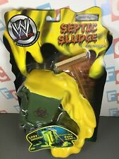 WWE Wrestling Jakks Gear Gone Bad Septic Sludge Lazy Janitor Accessory Set