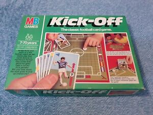 MB Games KICK-OFF Football Card Game 1981 - Vintage Great Condition