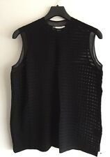 ALEXANDER WANG Open-knit cotton-blend top SIZE S UK 8 RRP £413