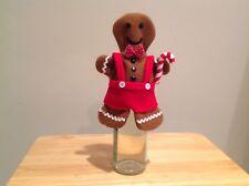 St. Nicholas Square Gingerbread Wine Bottle Cover