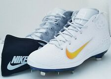 Nike Force Zoom Trout 5 Mens Baseball Cleats White/Multi Color