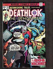 Astonishing Tales #33 ~ Deathlok / Klaus Janson Art  ~ (9.0) 1976 WH