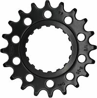 "KMC Bike Chainring Ebike Sprocket For Gen 2 Bosch Systems 1/2""x1/8"" 21T Black"