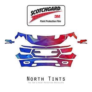 Dodge Ram 1500 Sport 2019-2020 PreCut 3M Scotchgard Paint Protection Clear Bra