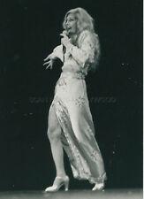 DALIDA 1980s  VINTAGE PHOTO ORIGINAL #5