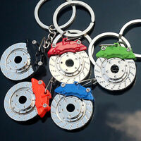 3D Part Metal Brake Disc Model Creative Car Auto Keychain Keyfob Keyring Gift W