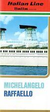 1960s MICHELANGELO & RAFFAELLO Color Interiors Brochure in English