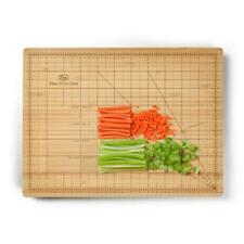 Kitchen Craft Fred Obsessive Chef Bamboo Wooden Precision Cutting Chopping Board