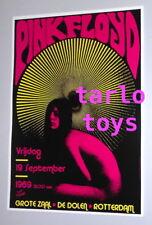 PINK FLOYD - Rotterdam, Olanda - 19 settembre 1969 -   poster concerto
