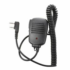 Bidirezionale portatile altoparlante Mic microfono per Baofeng UV-5R / 5RA K6Q7