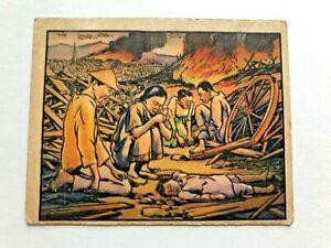 "CHILD of the RAIN - 1938 GUM INC ""horrors of war"" card/ HIGH #"