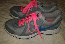 Nike Revolution 2 Women's Running Shoes Size 8.5  Gray/Teal/Pink