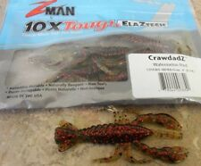 "Z-Man CrawdadZ - 4"" - Watermelon Red, Cod Perch Bass soft plastic lure"