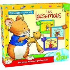 Leo Lausemaus - Einsteigerbox - Folge 1 - 3 (3 CD)