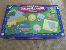 ELC - Arts and crafts - Jungle animals plaque making kit