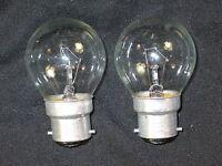 2 x Glühbirne 40W Bajonett B22  B22d - Tropfen - Glühlampe Steckbirne (2 Stück)