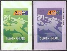 Finnland Mi.Nr. 2130-2131** (2011) postfrisch (selbstklebend)/Nationalwappen