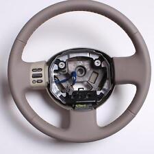 Leder Lenkrad Nissan Micra K12  Neu Beziehen Beige