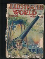 Illustrated World Magazine December 1917 World War I Submarine Quebec Bridge