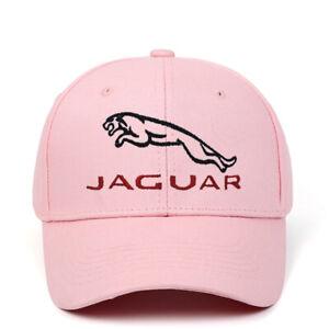Fashionable JAGUAR Car Logo Embroidered Baseball Hat Adjustable Hip-hop Dad Cap