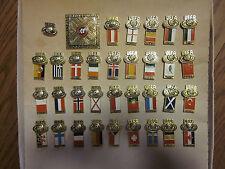 1984 UEFA CUP SOCCER / FOOTBALL PIN SET RUSSIA