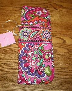 Vera Bradley Iconic Curling & Flat Iron Cover or Straighten Up & Curl 4 travel