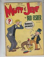Mutt and Jeff 28 GVG (3.0) 7/47 Bud Fisher! Al Smith artwork!