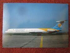 CARTE POSTALE POSTCARD AIR UKRAINE IL-62M UR-86134 WAYNE CLUITT