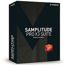 NEW Magix Samplitude Pro X3 Suite Digital Audio Workstation Version PC