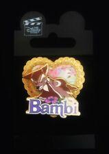 Rare Disney Store Japan Couple Series Faline Kissing Bambi Pin Valentines Heart