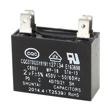 CBB61 2 uf 5% resistance 4 pin AC welding capacitor motor 450 V K4Z5