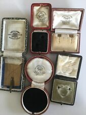 5 Antique Jewellery Display Boxes