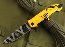 EXTREMA RATIO MF3 Tactical Golden Saber Folding Assisted Opening Knife Gift NEW