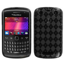 BlackBerry Curve 9350 9360 9370 TPU Gel CANDY Hard Skin Case Cover Smoke Plaid