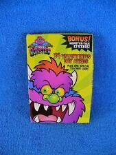 My Pet Monster 2001 Valentine's Day Cards w/Bonus Monster Talk Stickers - New !