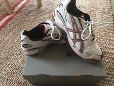 Men's Asics Size 7 (Suit Ladies Sz 8.5) Gel Hardwicket 4 Runners/Cricket Shoes