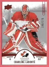 2016-17 Charline Labonte Upper Deck Team Canada Juniors 146/175 Red