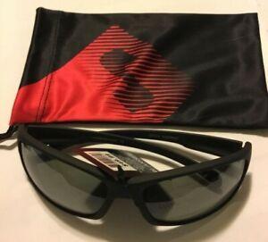 Sundog NWT #227214 DISCREET Black Polarized Green Mens Sunglasses  $49.99 w/bag