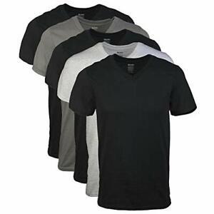 Gildan Men's V-Neck T-Shirts, Multipack