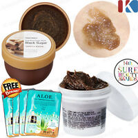 Black Sugar Scrub 100ml / Exfoliating wash off scrub mask Face Scrub Skin Care