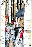 Black Badge 1 Jeff Lemire 1 in 20 Variant VF/NM Boom Comic Book First Print 2018