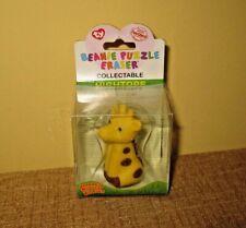Hightops Giraffe Collectible Ty Beanie Puzzle Eraser Iwako 2010