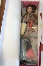 """Paradise Marie Louise 16"""" Tall Porcelain With Stand"""