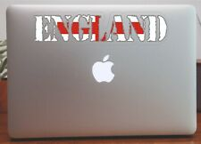 England Outline  Flag  Map Laptop Bumper Window Sticker Proud to be English