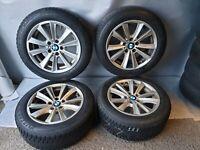 Winterreifen BMW 5er F10 F11 F18 6er F06 F12 F13 RSC RDK Sensoren 225/55 R17 97H